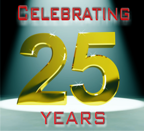 25 years(1)